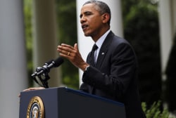 Obama presents foreign policy plans in speech