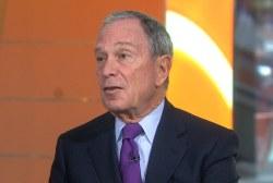 Gun control becomes Bloomberg's new focus