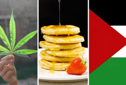 Pot, pancakes and Palestine