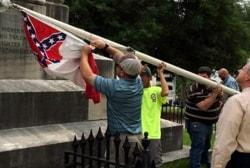 Alabama becomes latest state to remove flag