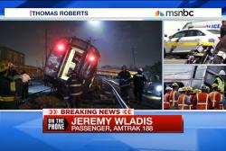 Train survivor describes 'chaos' after...