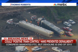 Positive train control as crash prevention?