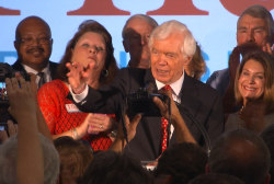 Thad Cochran pulls off a win in Mississippi