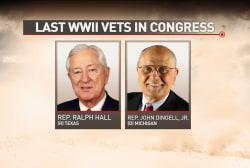 The last World War II vets in Congress