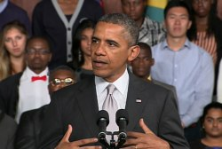 President Obama makes final stop on his...