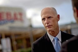 Rick Scott talks run for reelection