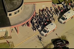 Students stabbed at Pittsburgh high school