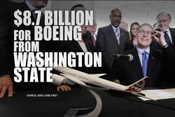 Boeing gets large corporate tax break