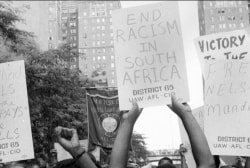 The politics of Apartheid