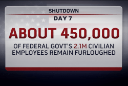 Shutdown enters week two
