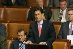 Eric Cantor – first to lose job in primary