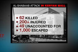 Who is involved in the Kenya attack?