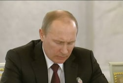 Putin tries to exert influence over Ukraine