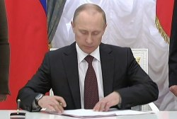Putting pressure on Putin