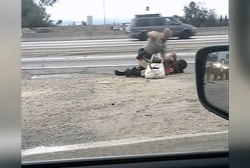 Investigation underway in CA highway beating