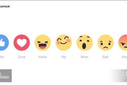 OMG! Facebook rolls out emoji 'reactions'
