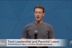 Will Zuckerberg lead on paternity leave?