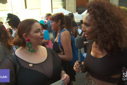 SlutWalk crowd talks about why they came