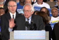 Sanders: 'Nothing short of a political...