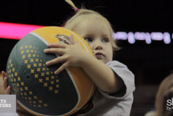 Love & Basketball: Being a mom on and off...