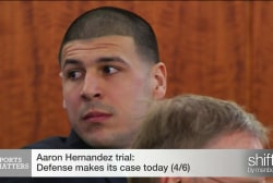 Aaron Hernandez trial update: shaking...