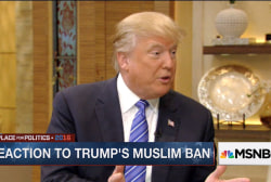 Banning Muslims not 'workable'
