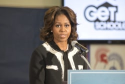 First lady pushing for nutrition regulations