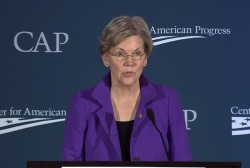 Elizabeth Warren helps doom Treasury nom