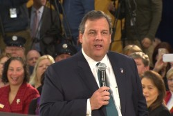 Christie isn't worried 'about politics'