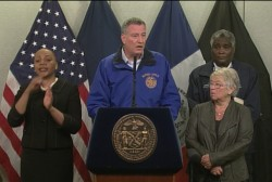 Schools remain open in NYC, despite storm