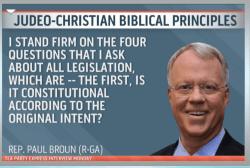 A matter of principle?