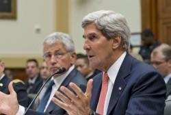 John Kerry tries to drum up European...