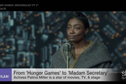 Hunger Games star Patina Miller on final film