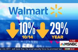 Walmart stocks plunge