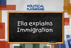 A kindergartner talks immigration