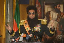 Sacha Baron Cohen mocks U.N. over Syria in...