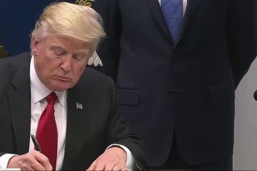 New executive order on immigration…