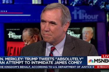 Dem Senator: Trump 'absolutely' tried to…