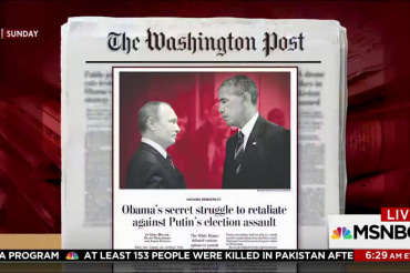 Trump, Obama, Russia and what they both knew