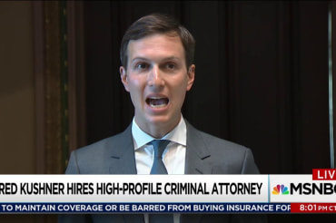 Kushner hires lawyer with scandal experience