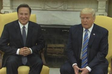 Trump: 'I think we did a good job' on the…
