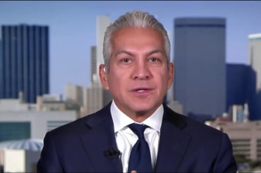Hispanic leader on why he hasn't yet left…