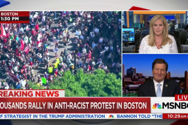 Rep. Garamendi: Boston rallies continue…
