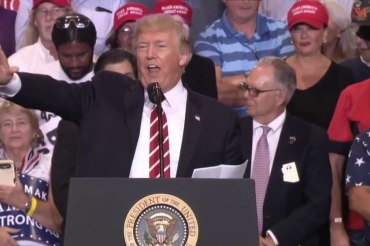 After 'unhinged' rally, worry about Trump...