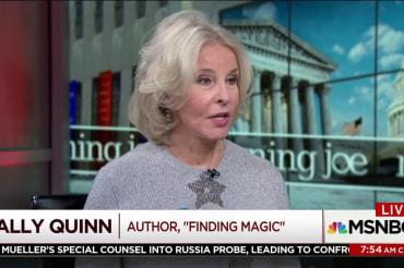Sally Quinn: Washington is really toxic…