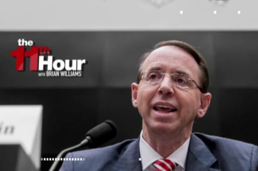 Trump's Deputy Attorney General: No good cause to fire Mueller
