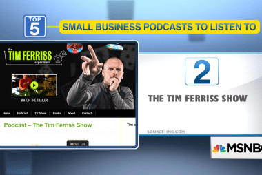 Top 5 podcasts for business owners