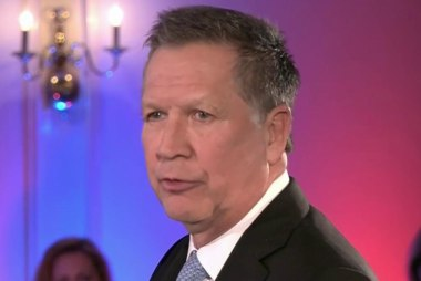 Kasich: No NC bathroom law for Ohio