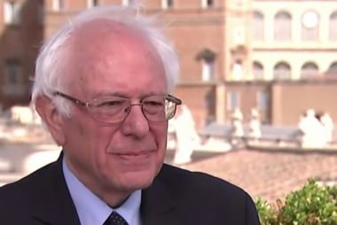 Sanders' private meeting with Pope Francis