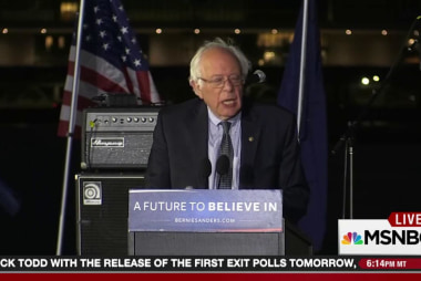 Sanders edges towards calling Clinton corrupt
